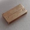 MagneticClasps,ZincAlloyBraceletFindinds,14K Gold 19x37.5mm,Holesize:34x4mm,SoldbyPC