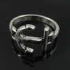 Zinc Alloy Ring, 21mm, Inner dia:18mm Sold by Bag
