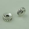 Spacerbeads,FashionZincAlloyjewelryfindings,7.5mm,Holesize:2mm.Soldbybag