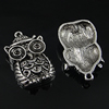 Pendant settings. Fashion Zinc Alloy Jewelry Findings. Animal 23x38mm, Sold by Bag