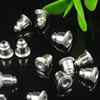 Earring Back Stopper Finding, Iron Lead-free, 6mm long,5mm wide,hole:1mm, Sold by Bag