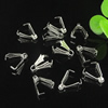 Prong Pendant Bails, Iron, Lead-free, 9x4mm with loop, Sold by bag