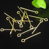 Jewelry Finding, Iron Eyepins, 0.7x50mm, Sold by KG