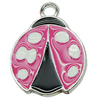 Zinc Alloy Enamel Pendant. Fashion Jewelry Findings. 20x26mm. Sold by PC