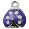 Zinc Alloy Enamel Pendant. Fashion Jewelry Findings. 14x18mm. Sold by PC