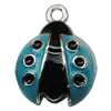 Zinc Alloy Enamel Pendant. Fashion Jewelry Findings. 13x19mm. Sold by PC
