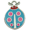 Zinc Alloy Enamel Pendant. Fashion Jewelry Findings. 16x23mm. Sold by PC