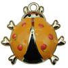 Zinc Alloy Enamel Pendant. Fashion Jewelry Findings. 24x25x13mm. Sold by PC