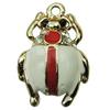 Zinc Alloy Enamel Pendant. Fashion Jewelry Findings. 19x29mm. Sold by PC