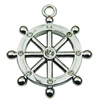 Crystal Zinc alloy Pendant, Fashion jewelry findings, Many colors for choice, wheel 36mm, Sold By PC