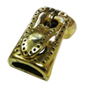 Magnetic Clasps, Zinc Alloy Bracelet Findinds, 33x11mm, Hole size:9x4mm, Sold by Pc