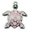 Crystal Zinc alloy Pendant, Fashion jewelry findings, Many colors for choice, Animal 47x40mm, Sold By PC
