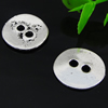 Button,Fashion Zinc Alloy Jewelry Findings. 17.5x16.5mm. Hole:3mm. Sold by Bag