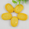 Flat Back Resin Cookies Cabochons Jewelry Fit Mobile Phone Hairpin Headwear Yearning DIY Accessories 30x21mm