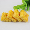 Flat Back Resin Cookies Cabochons Jewelry Fit Mobile Phone Hairpin Headwear Yearning DIY Accessories 23mm