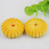 Flat Back Resin Cookies Cabochons Jewelry Fit Mobile Phone Hairpin Headwear Yearning DIY Accessories 26mm