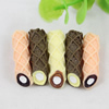 Back Resin Chocolate Cabochons Jewelry Fit Mobile Phone Hairpin Headwear Yearning DIY Accessories 27x8mm