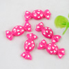 Back Resin Cute Sweets Cabochons Jewelry Fit Mobile Phone Hairpin Headwear Yearning DIY Accessories 24x10mm