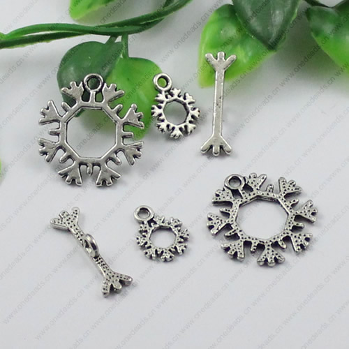 Clasps.FashionZincAlloyjewelryfindings.Loop:21x22mm.Bar:21x7mm.14x10mm.SoldbyKG