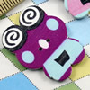 Wooden Button/Beads, Fashion DIY-accessories Mixed color Mixed Pattern Frog, 30x24mm,Hole:1.5mm Sold by Bag