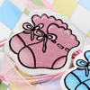 WoodenCabochons Baby shoesForBarrette/DecorationJewelryDIY-Accessories33x30mm SoldbyBag