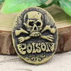 Flat Back Resin Skeleton Cameos Cabochons For Settings Jewelry Pendant DIY-Accessories 18x25mm SoldbyBag