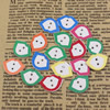 Wholesale Mixed color Lead-free Mouth Wooden Button Beads 20x14mm Sold by PC