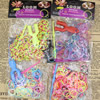 Colorful Rubber rope Loom Bands DIY Bracelet Making Children's Educational Toys about 210pcs Rubber Bands, Sold by Dozen