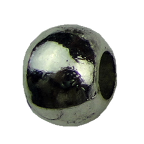 Europenan style Beads. Fashion jewelry findings.7.8x10mm, Hole size:4.8mm. Sold by KG