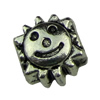 Europenan style Beads. Fashion jewelry findings.9x10mm, Hole size:4.3mm. Sold by KG