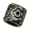 Europenan style Beads. Fashion jewelry findings.8x9mm, Hole size:4.7mm. Sold by KG
