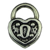 Bail Beads. Fashion Zinc Alloy Jewelry Findings.10x13mm.Inner dia:3.4mm Sold by KG