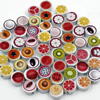 Wholesale Mixed Wood Beads Lead-free Fruit Wooden Beads For DIY jewelry Finding 10x10mm Hole:2mm Sold by PC