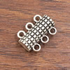Magnetic Clasps, Zinc Alloy Bracelet Findinds,18x13mm, Hole size:2mm, Sold by PC