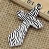 Pendant. Fashion Zinc Alloy jewelry findings.Cross 47x27mm. Sold by KG