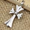 Pendant. Fashion Zinc Alloy jewelry findings.Cross 33x15mm. Sold by KG
