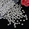 Spacer beads, Fashion Zinc Alloy jewelry findings,3.5x4mm,Hole size:1mm. Sold by KG