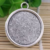 Zinc Alloy Cabochon Settings. Fashion Jewelry Findings.40x35mm Inner dia 29.5mm. Sold by PC