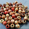Wooden Beads, Fashion DIY-accessories for Bracelet/Necklace Mixed color Rondelle 17x16mm,Hole:7mm Sold by PC