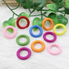 Wooden Beads, Fashion DIY-accessories for Bracelet/Necklace Mixed color Rondelle 34mm,Hole:21mm Sold by PC