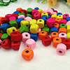 Wholesale Mixed Wood Beads Lead-free Square Wooden Beads For DIY jewelry Finding 10x10mm Hole:3mm Sold by PC
