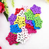Wooden Pendant, Fashion DIY-accessories Mixed color 23x24mm, Sold by PC