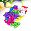 Wooden Pendant, Fashion DIY-accessories Mixed color 19x25mm, Sold by PC