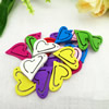 Wooden Pendant, Fashion DIY-accessories Mixed color 24x19mm, Sold by PC