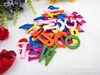 Wooden Pendant, Fashion DIY-accessories Mixed color 25mm, Sold by PC