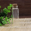 Small Tiny Clear Empty Wishing Drift Glass mini cute Bottle Message Vial With Cork Stopper 21x70mm Height 70mm Sold by PC