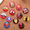Fashion Mixed Style Round Glass Cabochon Dome Cameo Jewelry Finding 10mm Sold by PC